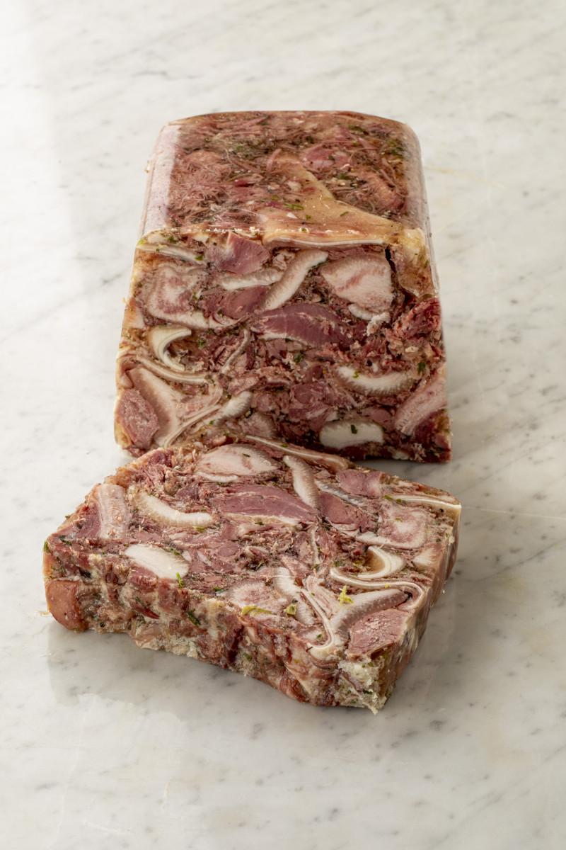 Tête de porc persillée