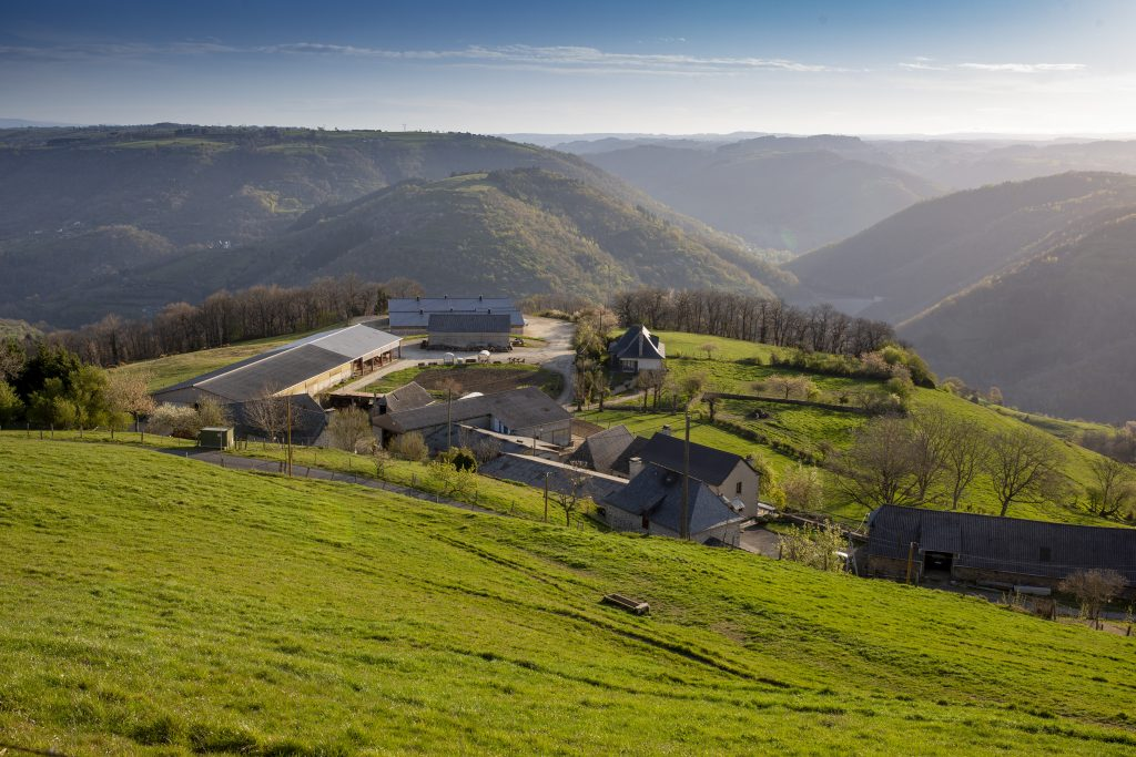 Campagne Cantal Aveyron Lot